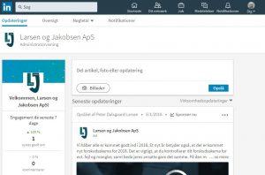 Larsen & Jakobsen LinkedIn