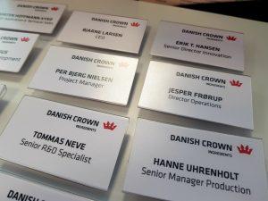 Danish Crown Ingredients - Navneskilte