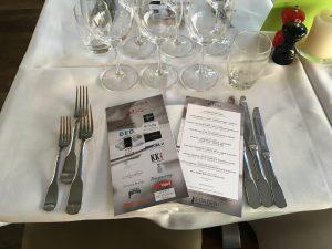 Menukort til Fonden Dansk Gastronomi