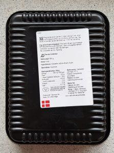 Velsmag OUA bagside-etiket