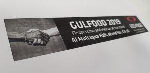 Gulfood fair 2019
